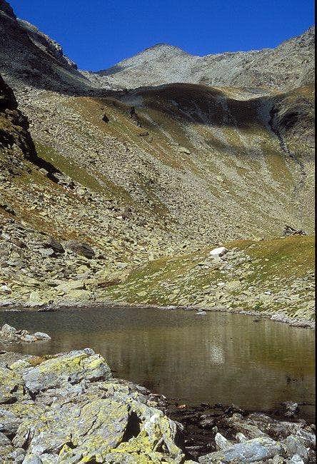 Baerenluegtal valley descent