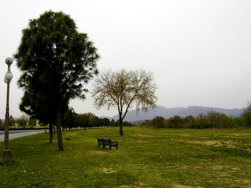 My Daily Walking Area