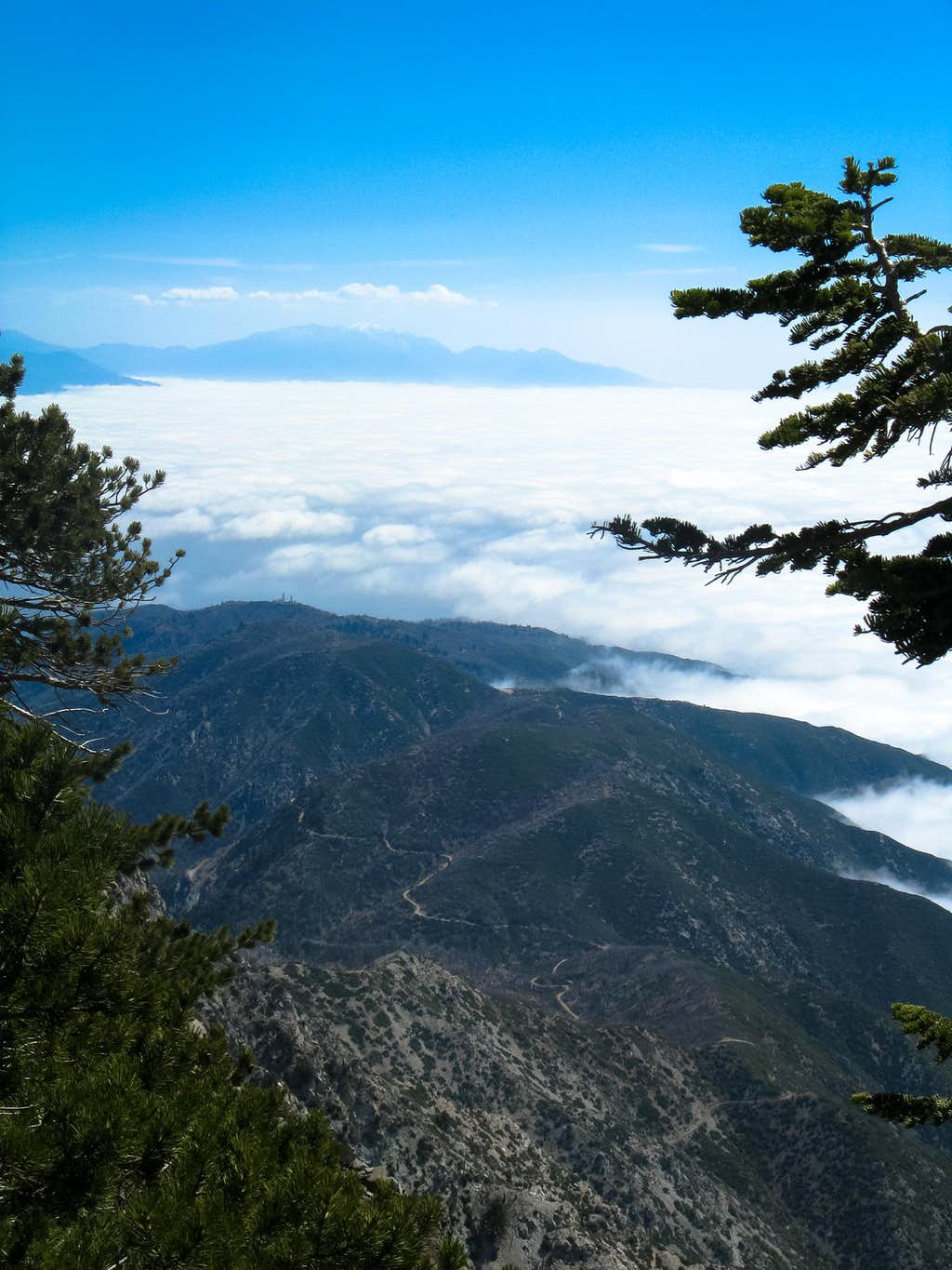 San Gorgonio from approach to Etiwanda from Cucamonga