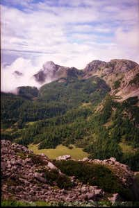 Planina under Miselj vrh from...