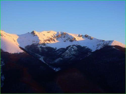 Monte Viglio from the...