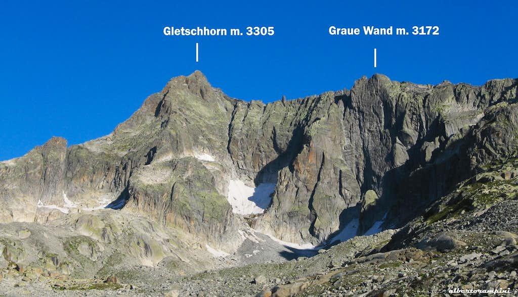 gletschhorn and graue wand photos diagrams topos summitpost. Black Bedroom Furniture Sets. Home Design Ideas