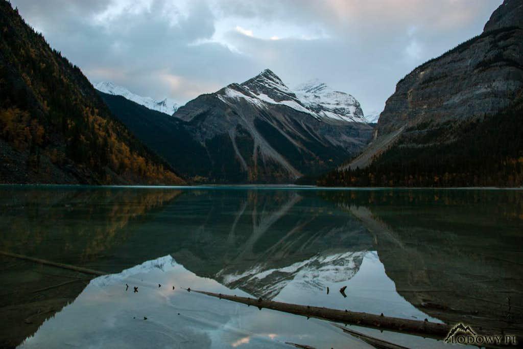 Kinney Lake at dusk