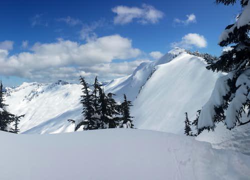 Lennox Mountain North Face 3-23-2014