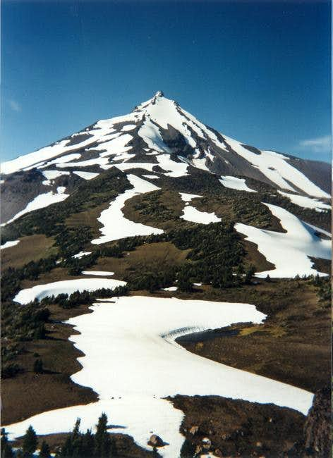 Mt. Jefferson, just two miles...