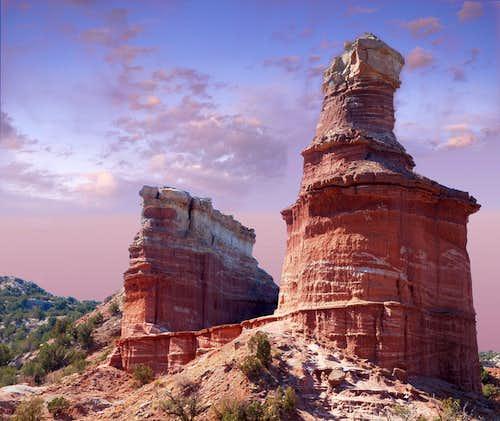 Lighthouse Pastels