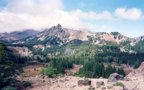 A view north to Goat Peak...