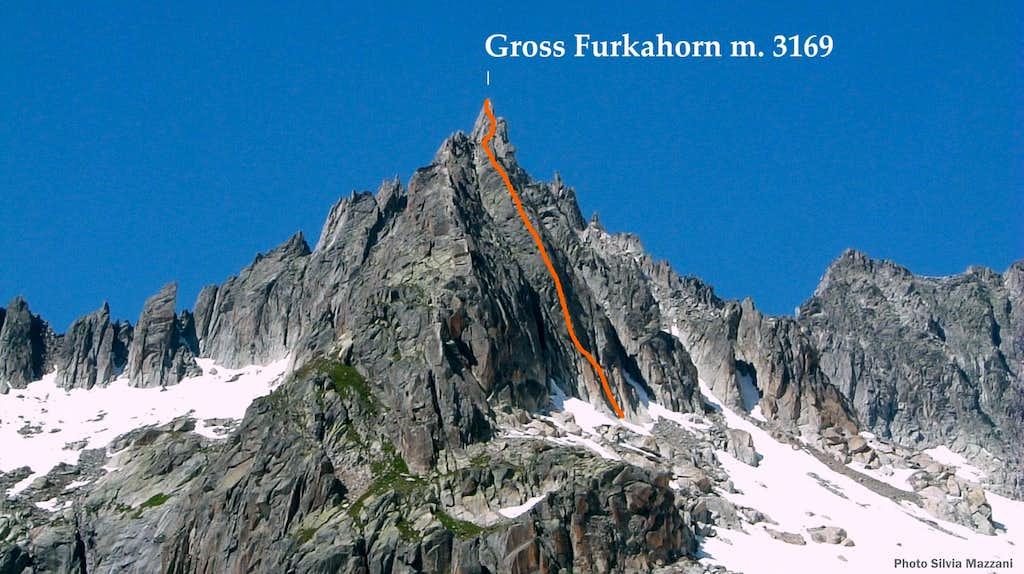 Beta of Evalin Route, Gross Furkahorn