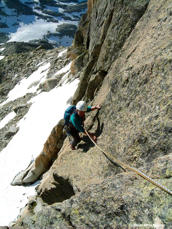 Starting the climb, Gross Furkahorn
