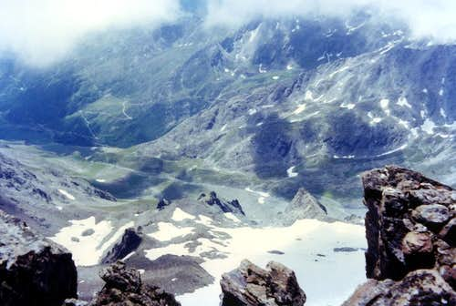 Southern From Testa of Rutor East Face to Valgrisa 1973