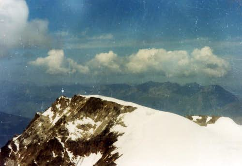 Southern RANGES Becca du Lac from Rutor Head 1973