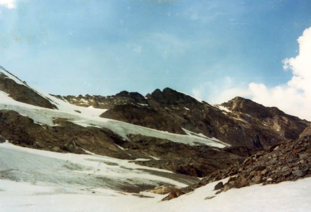 Southern RANGES To Testa of Rutor East Face 1973