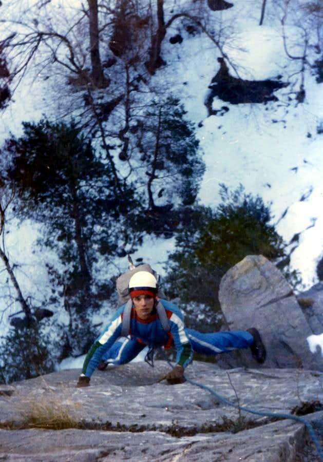 Curtain VI° Emilius ... Free on Lower Gorge Dard 1978