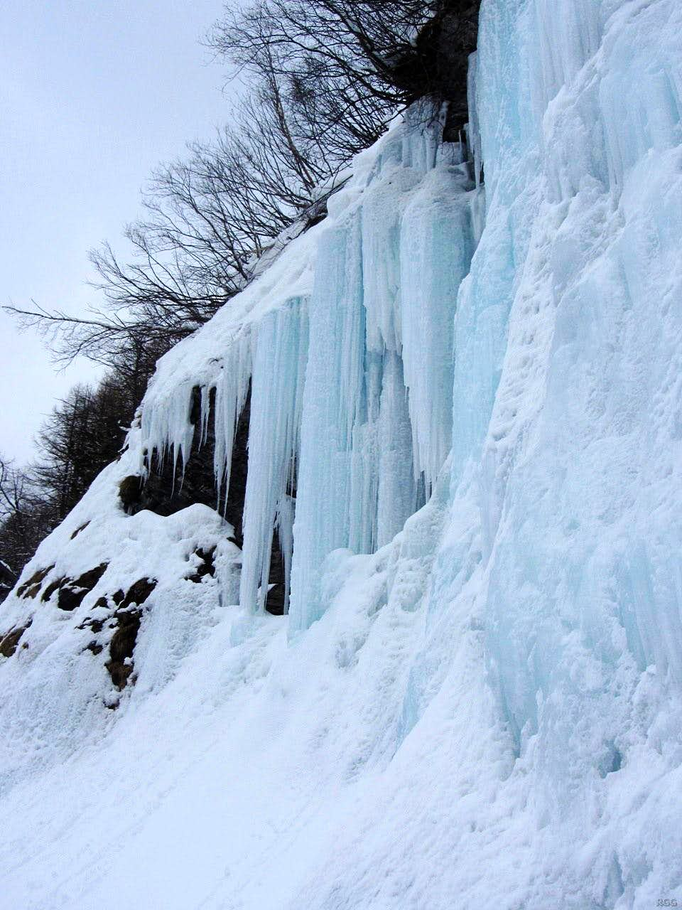 Ice at La Gouille