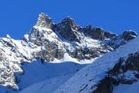Zooming in on Petite Dent de Veisivi from Arolla