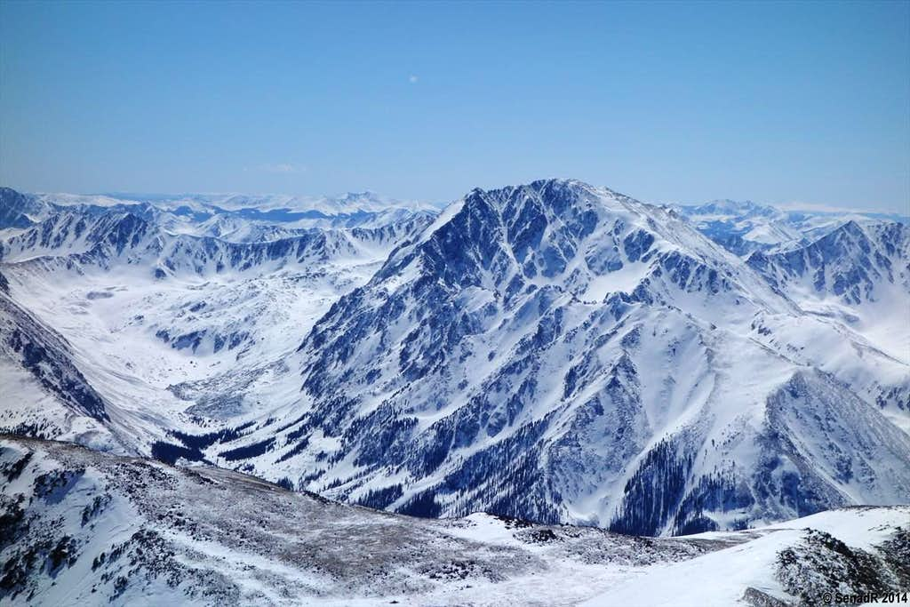 La Plata Peak.