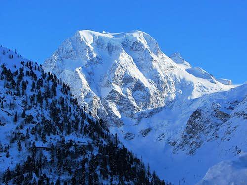 Mont Collon (3637m) north face