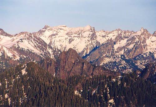 Cadet Peak from the WSW (from...