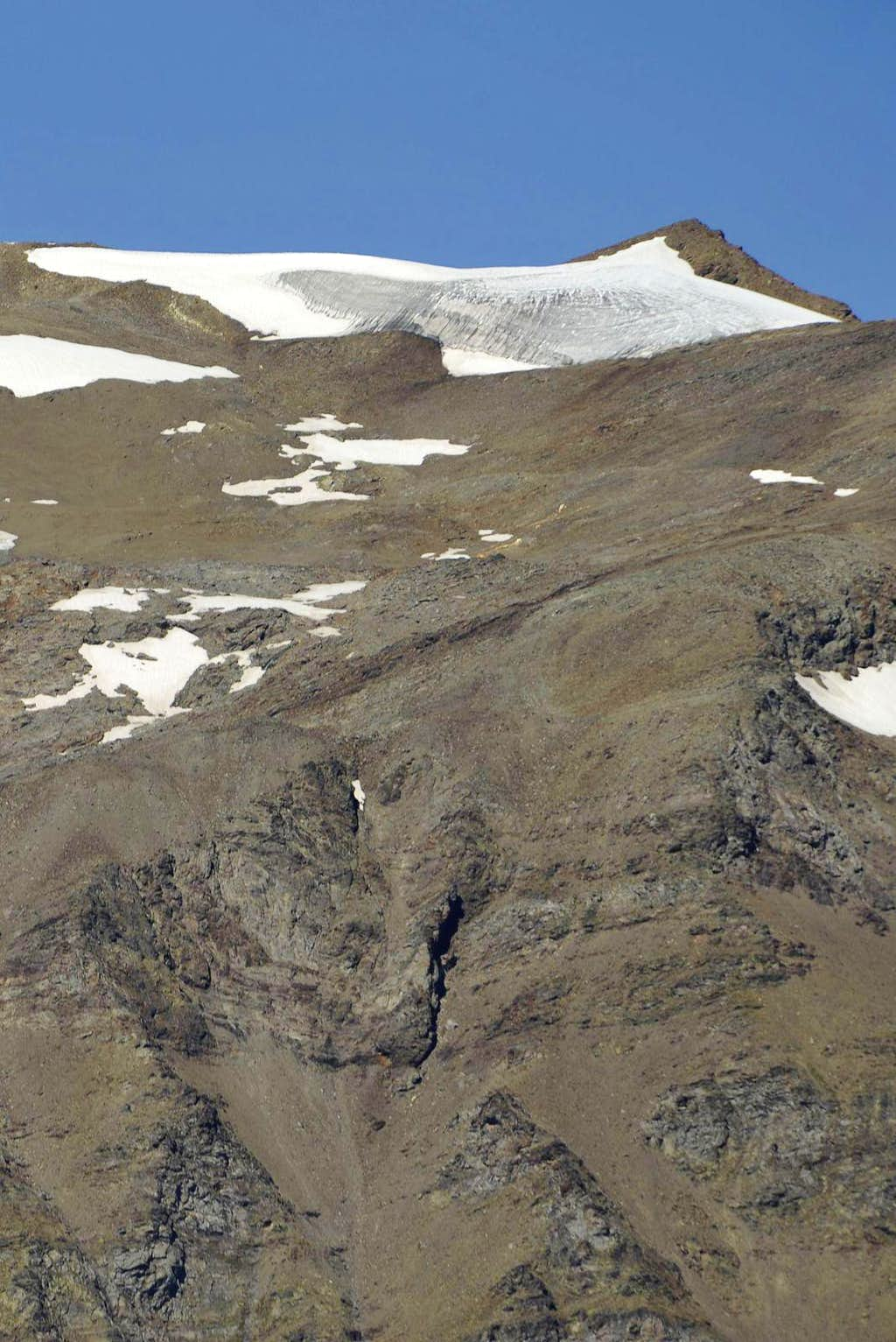 Truc Blanc Glacier