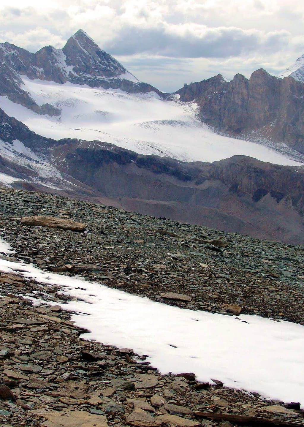 Soches - Tsanteleina Glacier