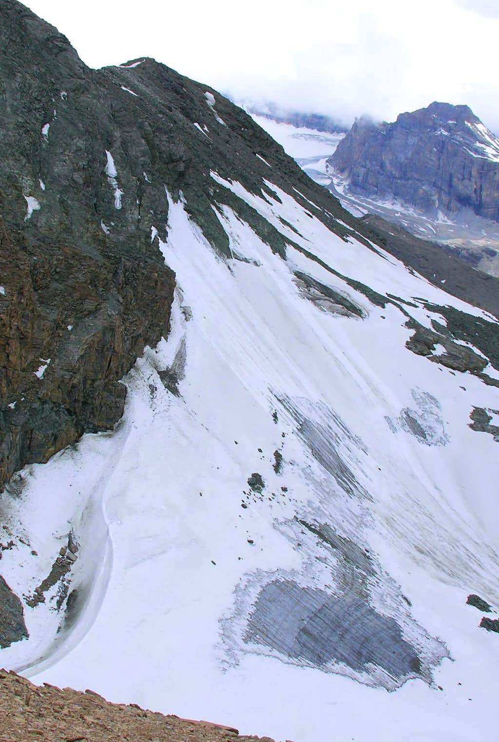 Vaudaletta Glacier