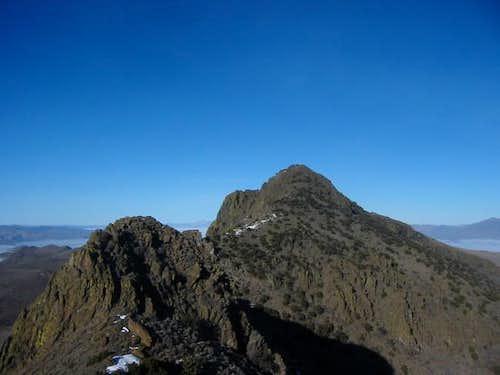 Tohakum Peak from Pyramid...