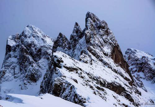Sass Rigais (3025m) and Fermeda