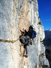A traverse on the route