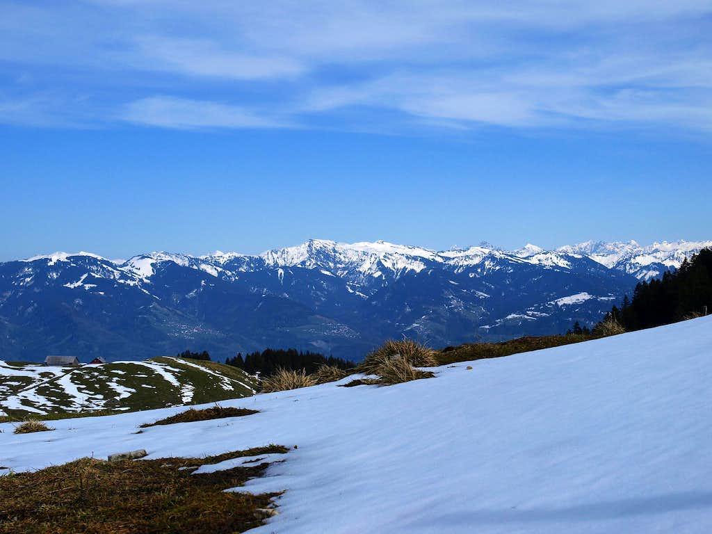 Bregenzerwald and Lechquellengebirge