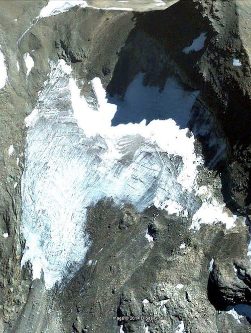 Google Earth  San Martino Glacier