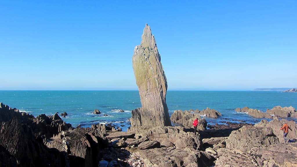 Bantham Hand Sea Stack
