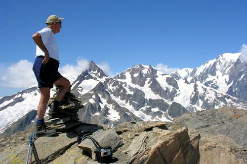 From Punta Léchaud to beginning of Mont Blanc 2006