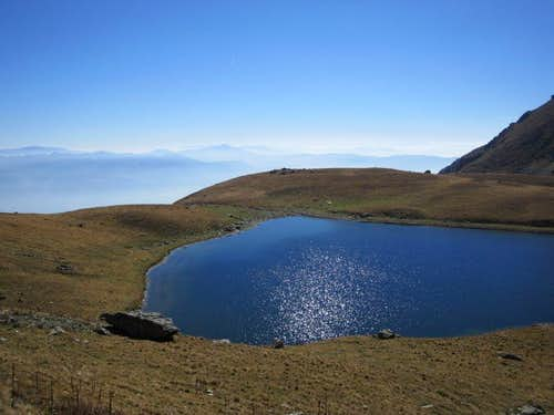Black Lake with Vardar valley