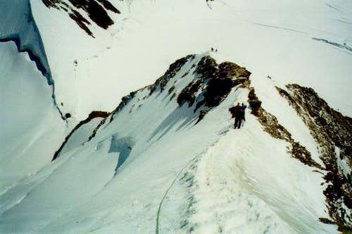 The Monch ridge
