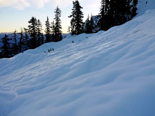 Icy Slopes of Whitehorse