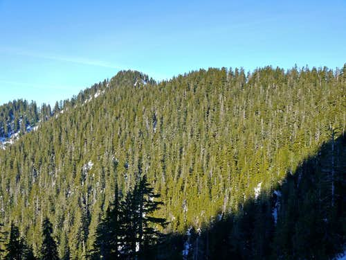 Looking over at Lone Tree Pass