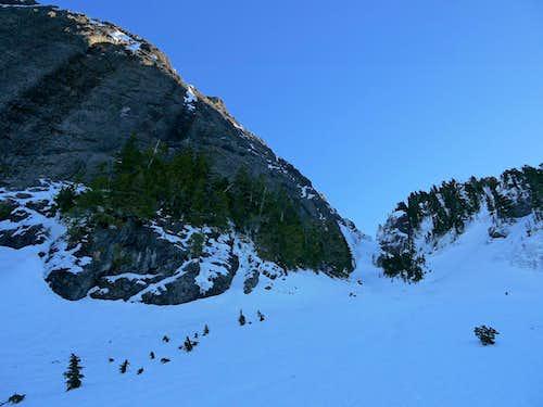 West Face of Whitehorse Ridge