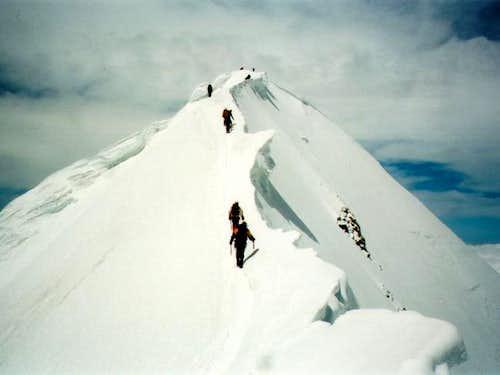 The last ridge: fantastic...