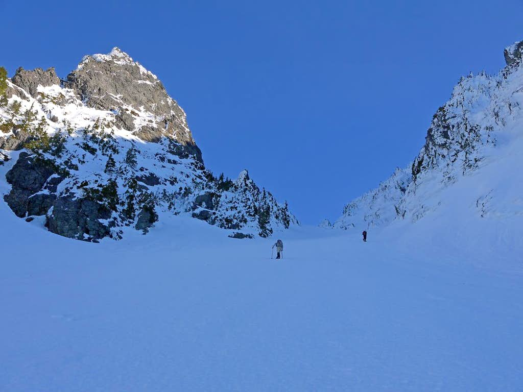 Heading up to High Pass