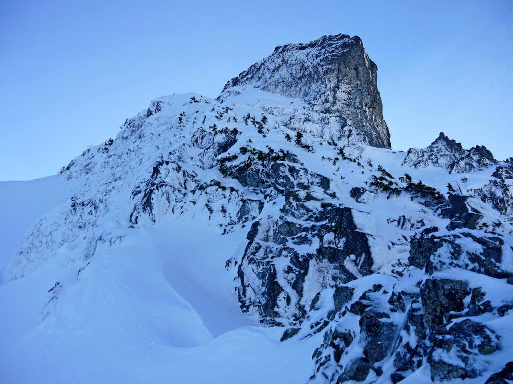 West Tower of Whitehorse Above