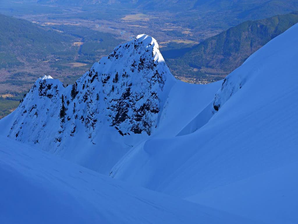 Cool Formations on the Whitehorse Glacier