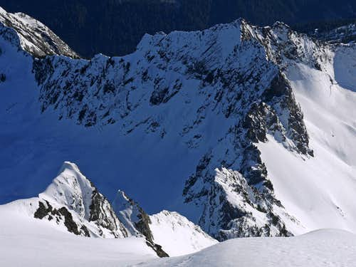 Looking Down the South Face