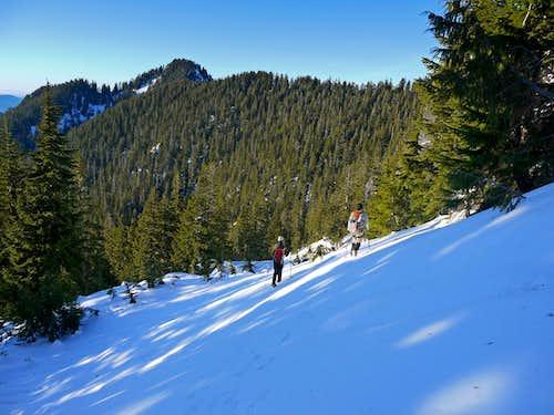 Heading Toward Lone Tree Pass