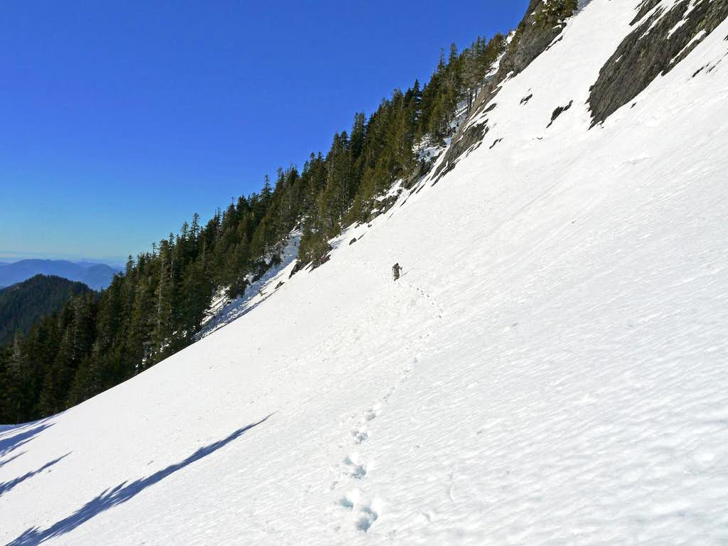 Traversing back to the Woods of Lone Tree Pass