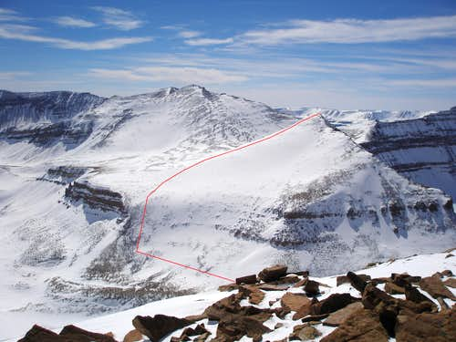 West Gunsight Route