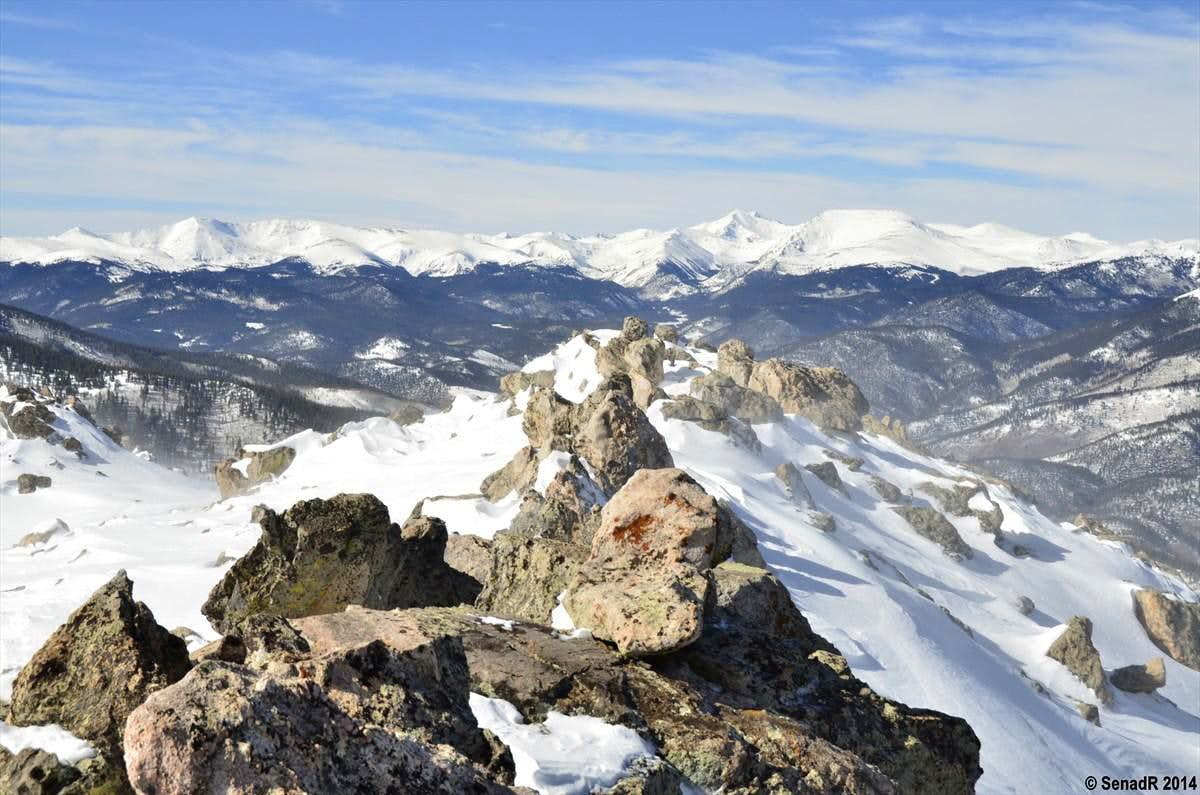 \'\'Platte Peak\'\' Winter hike.