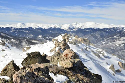 ''Platte Peak'' Winter hike.