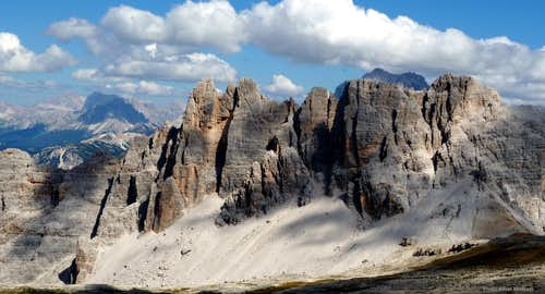 Dolomites, living mountains