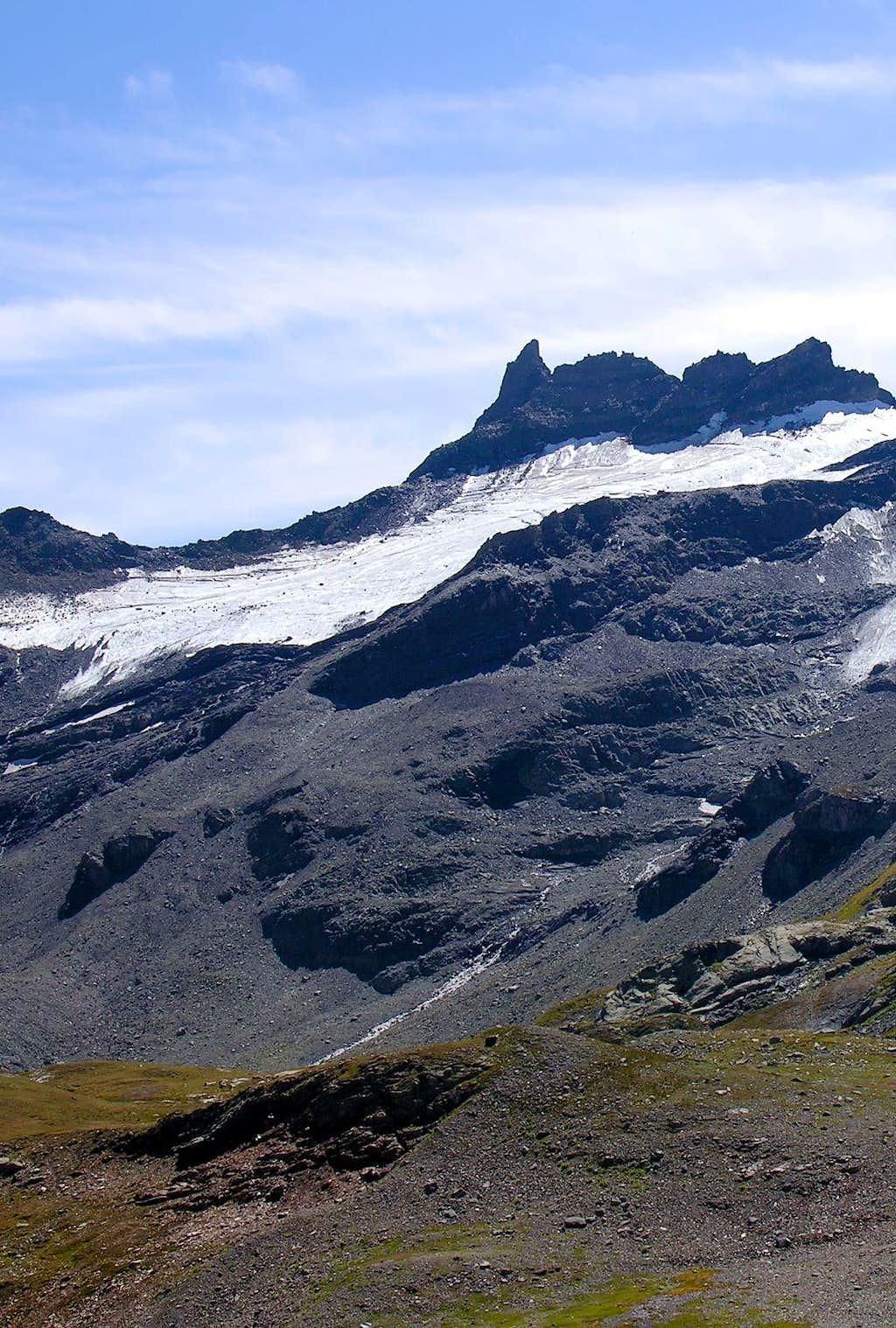 l'Hermite Glacier