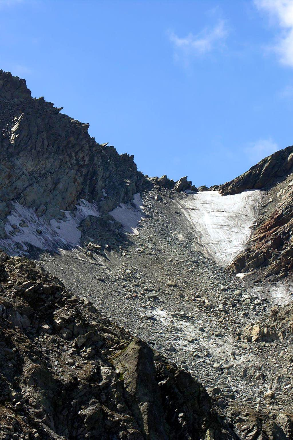 Fréduaz Orientale Glacier
